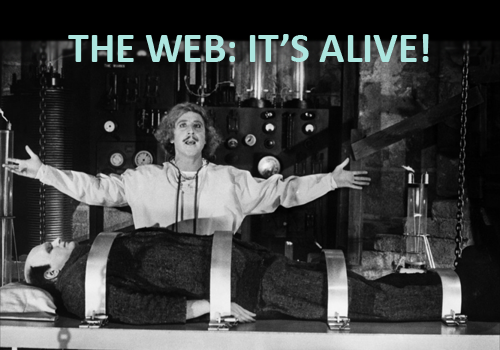 "Frankenstein: ""The Web: It's Alive!"""